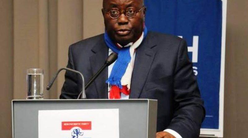 Flagbearer Of The New Patriotic Party (NPP), Nana Akufo-Addo