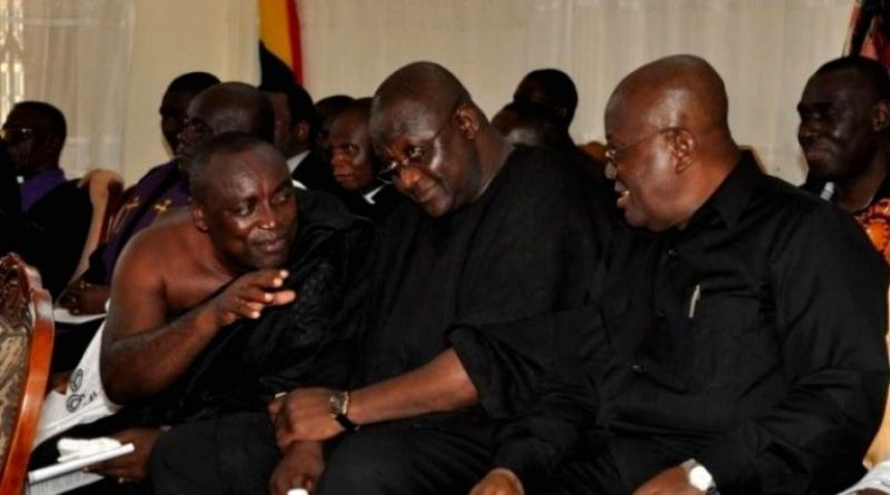 Nana Addo and Kwabene Agyapong