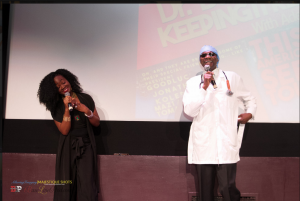 Adeola and Dr. Damages. Photo Courtesy: Majestique Shots