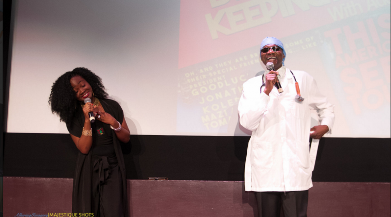 Adeola and Dr. Damages. Photo Courtesy: Majestique Shots