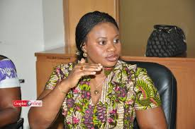 Ghana's Electoral Commissioner Charlotte Osei Photo Credit Graphic