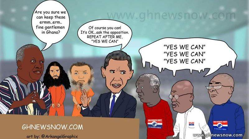 Ghatoon #9: Gitmo Transfer Brouhaha