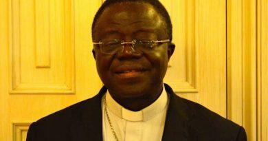 President of the Ghana Bishops Conference Most Rev. Joseph Osei-Bonsu