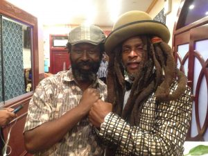 With David Hinds