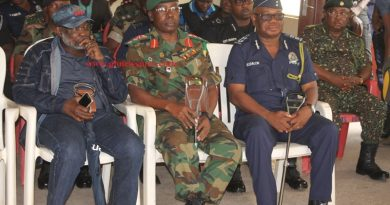 IGP (far right) With Chief Of Army Staff (middle) And National Security Coordinator  In A Meeting At Agogo