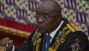 Doe Adjaho - Speaker of Parliament  Photo Credit: ghanalive.tv