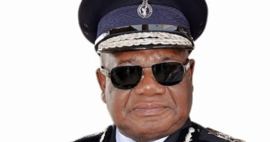 The Inspector General of Police, John Kudalor