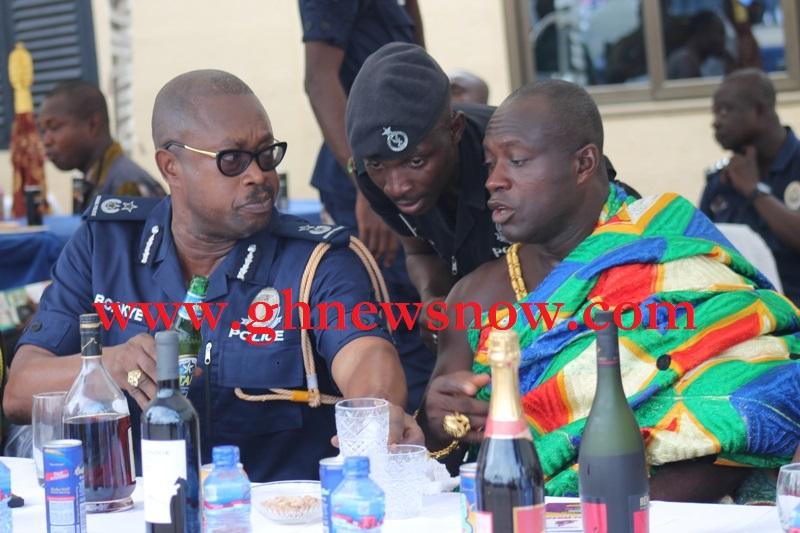 DCOP Kofi Boakye Interacting With AsoKwahene