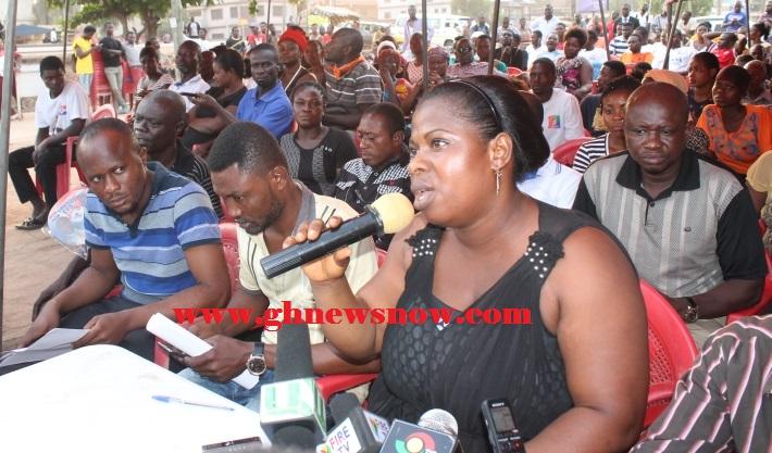Deputy Constituency Secretary of NPP of Manhyia North Constituency Patricia Arthur