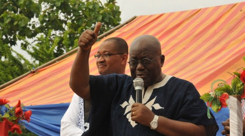 Flag Bearer of New Pareiotic Party (NPP) Nana Addo Dankwah Akuffo Addo
