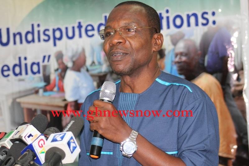 President Of Ghana Nationalists  Association Mr R. Affail Monney