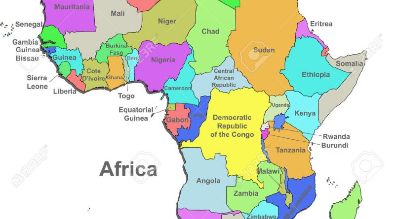 2016 Africa Map 25 Images Africa Map 2016