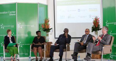 Ghana Climate Innovation Center launch at Ashesi University College, Brekusu-Ghana. May 17, 2016. © Francis Kokoroko 2016