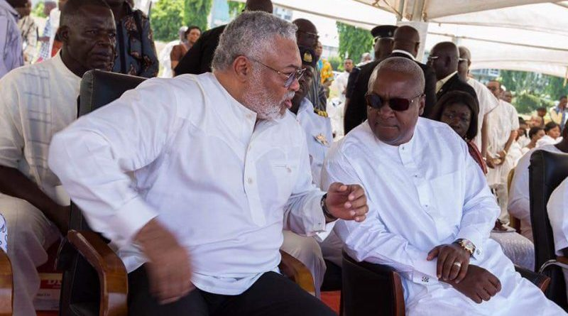 Mahama and JJ