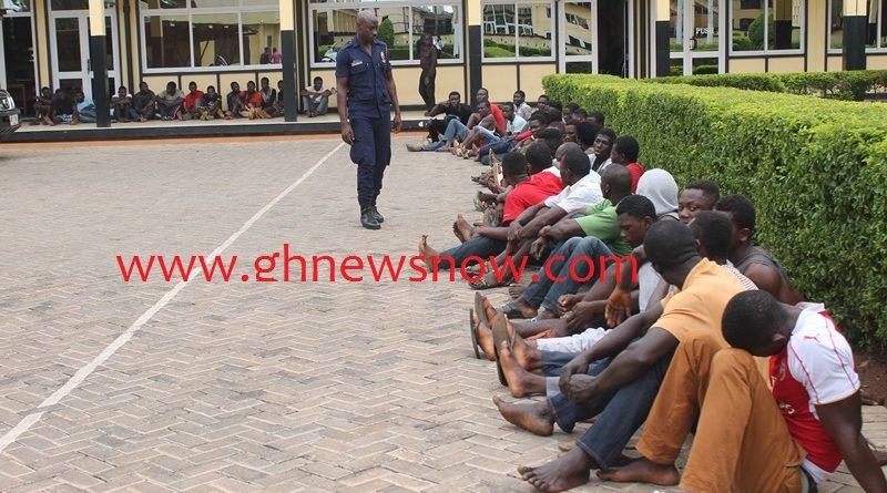 Kumasi Suspected Criminials
