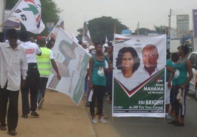 Ebi Bright Tests Political Muscle