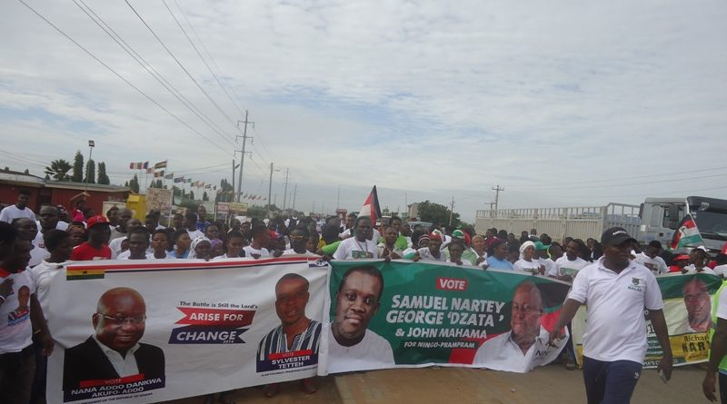 banners-of-npp-ndc-and-apc-on-display-during-the-walk
