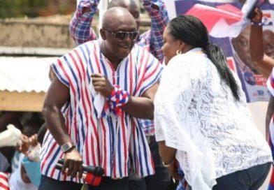 Nana Addo Unites Naa Torshie, Carlos Ahenkorah
