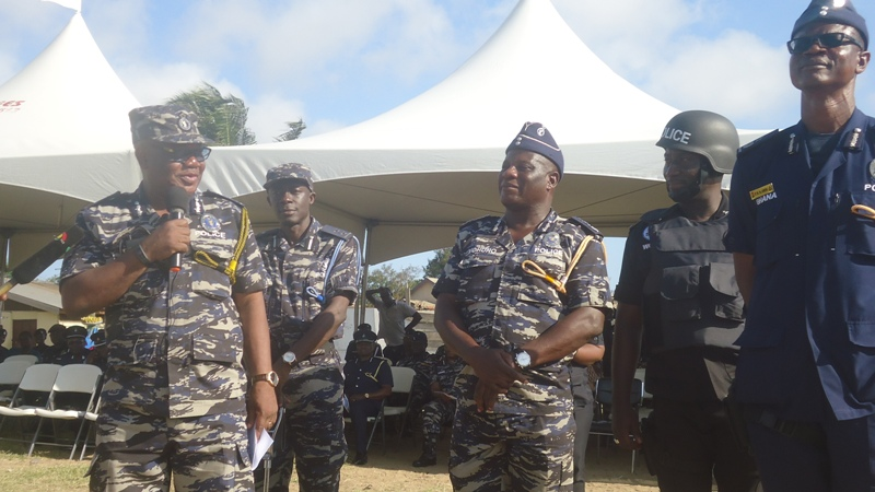 john-kudalor-commending-dcop-awuni-first-right-for-the-wonderful-simulation-exercise-by-his-personnel