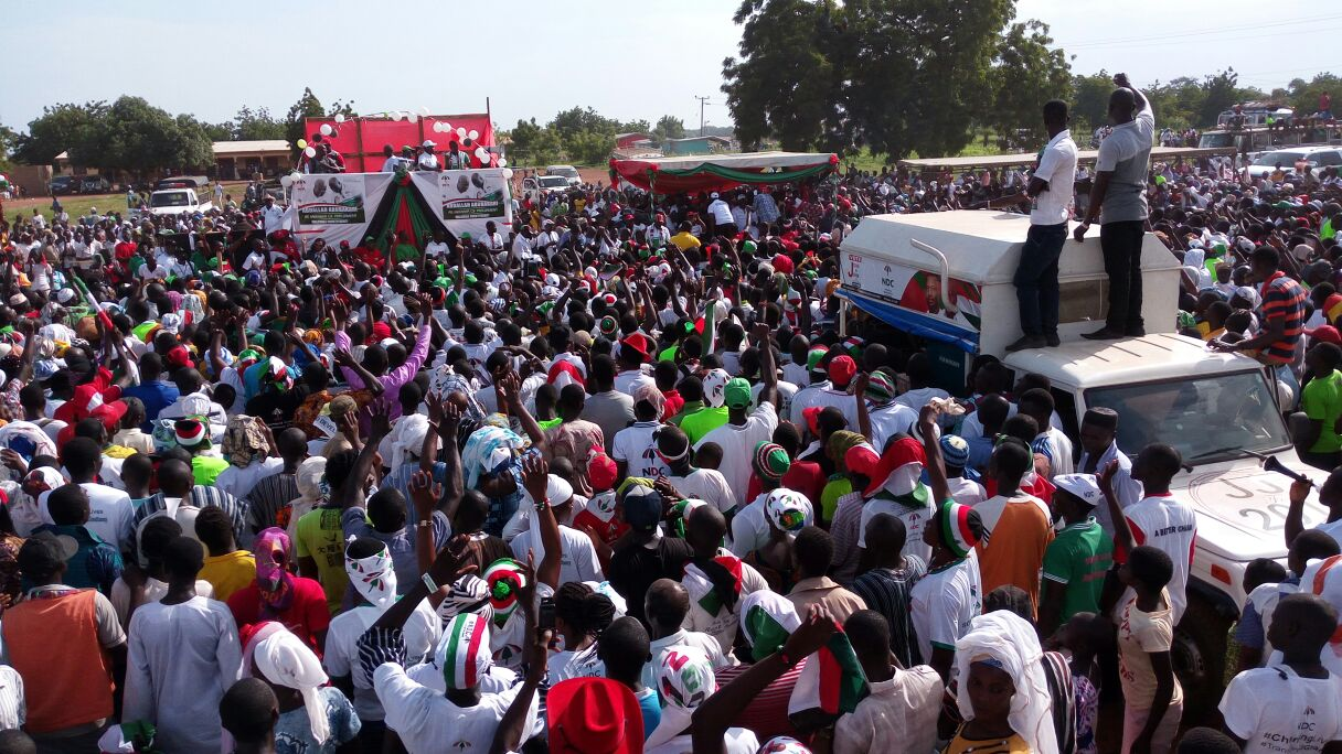 campaign launch of the northern regional minister, Abubakari Abdullah