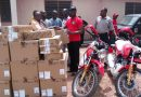 John Abdulai Jinapor Donates  Fifteen Computers, Two Motor Bikes To  Buipe Vocational Technical School