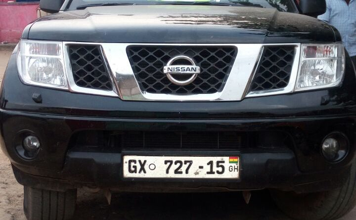 Vehicle With State Protocol Sticker Used For Theft In Central Region