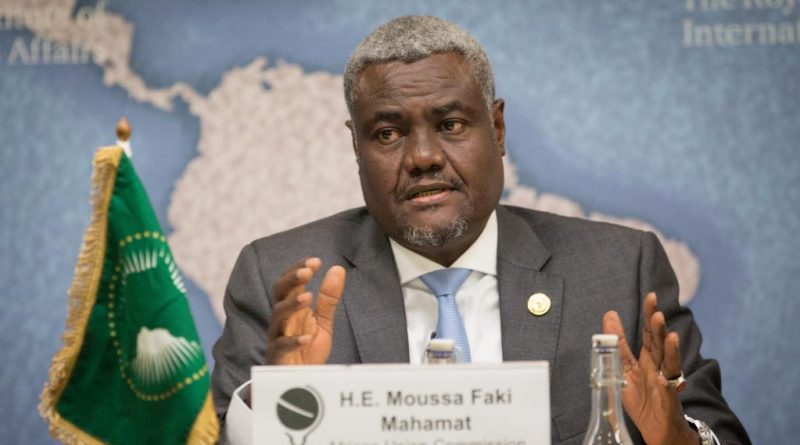 Mossa Faki Mahamat Photo Courtesy: RFI