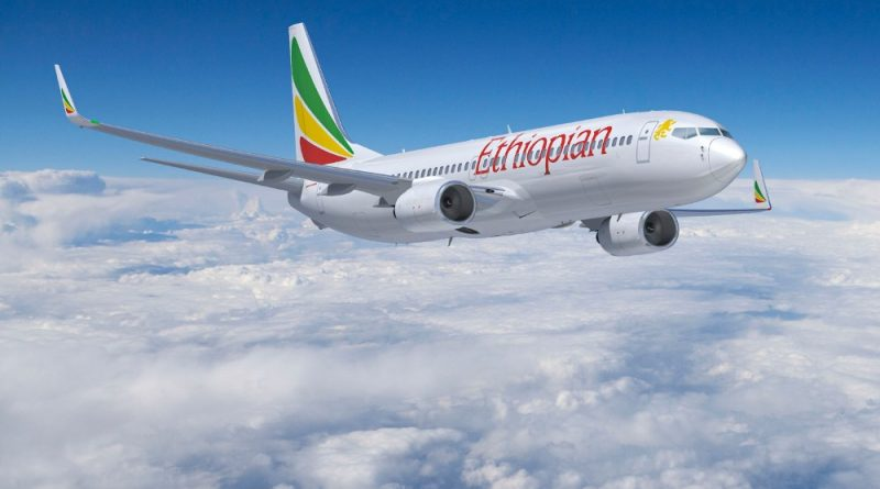 Ethiopian 737-800 Artwork K64855