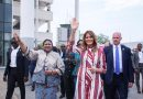 Photos: US First Lady Melania Trump In Ghana