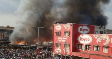 Kumasi-Central-Market-on-fire