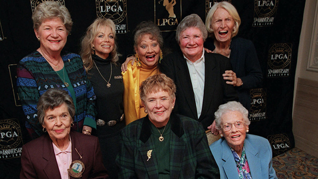 Marilynn Smith (standing, first on left) - pga.com