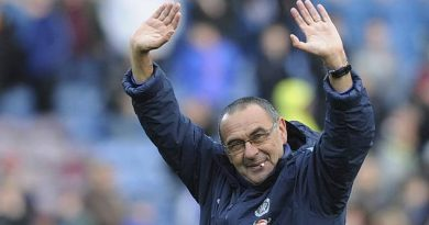 SARRI FINALLY QUITS CHELSEA, JOINS JUVENTUS