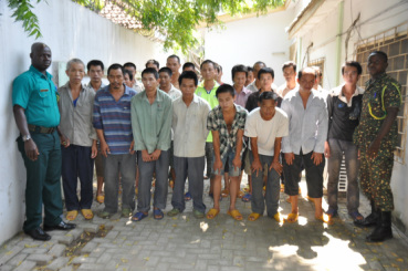Illegal Chinese miners