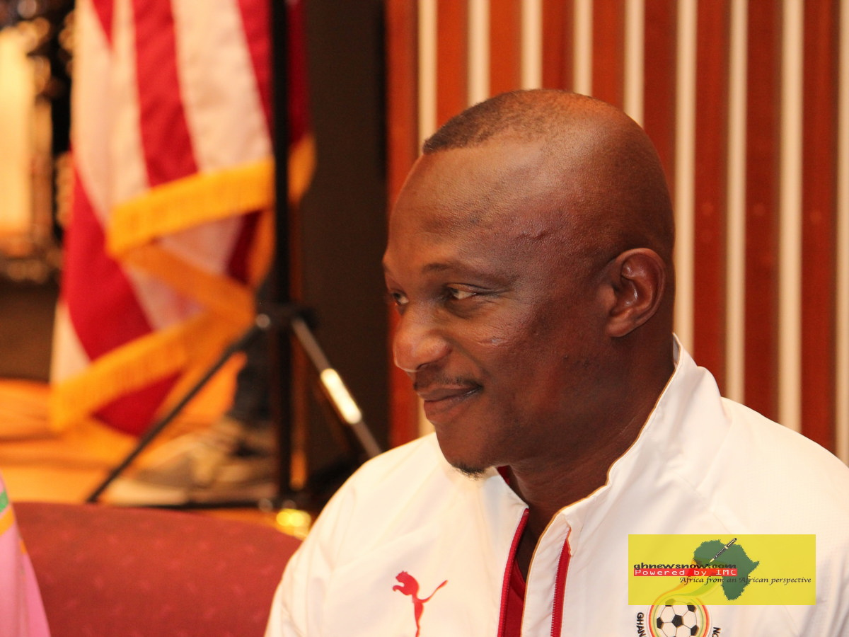 Kwasi Appiah - Scapegoat of the FA's incompetence? Photo by Kwame Anyane Yeboa