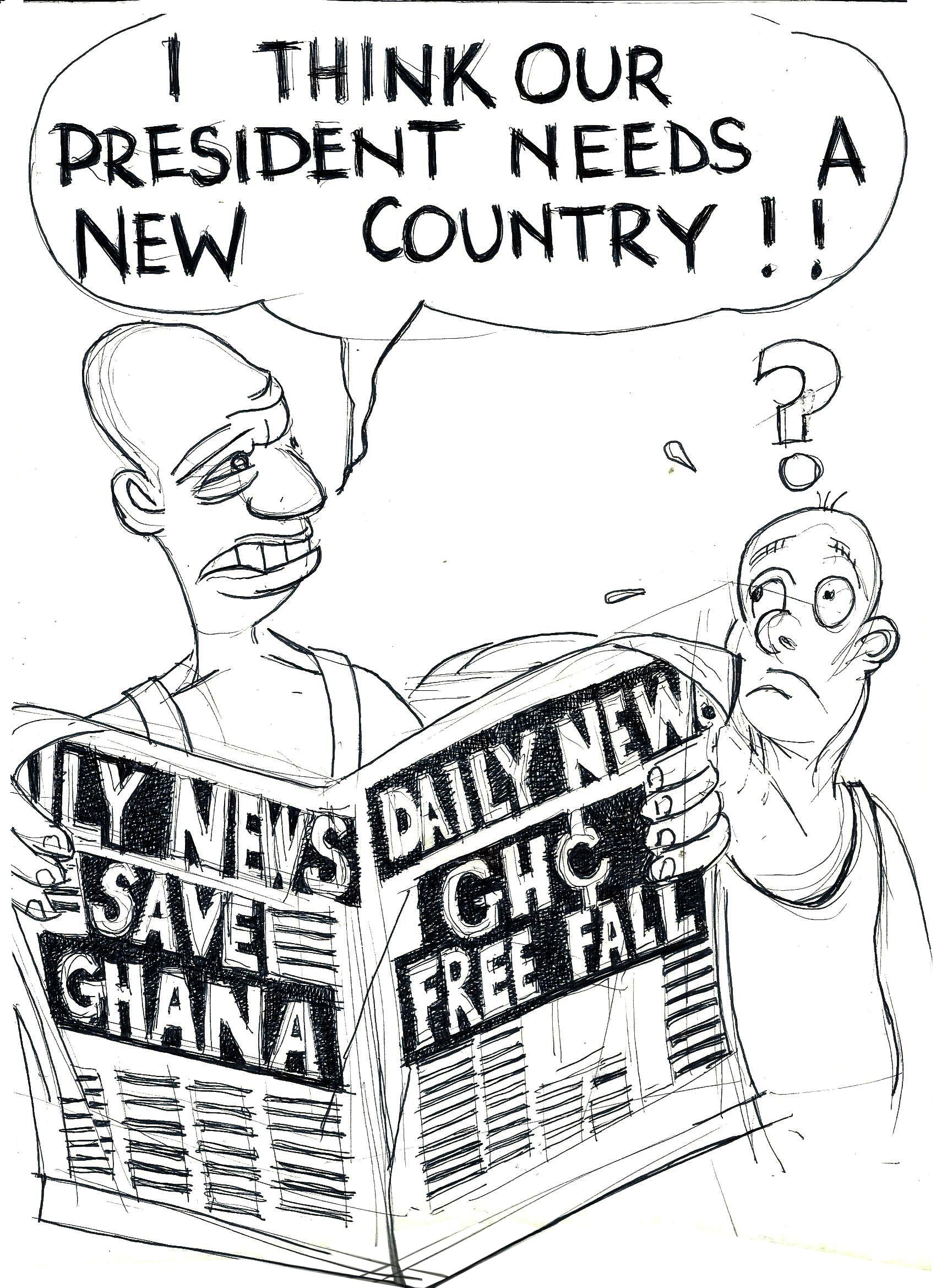 Kofi Wahala Thinks...