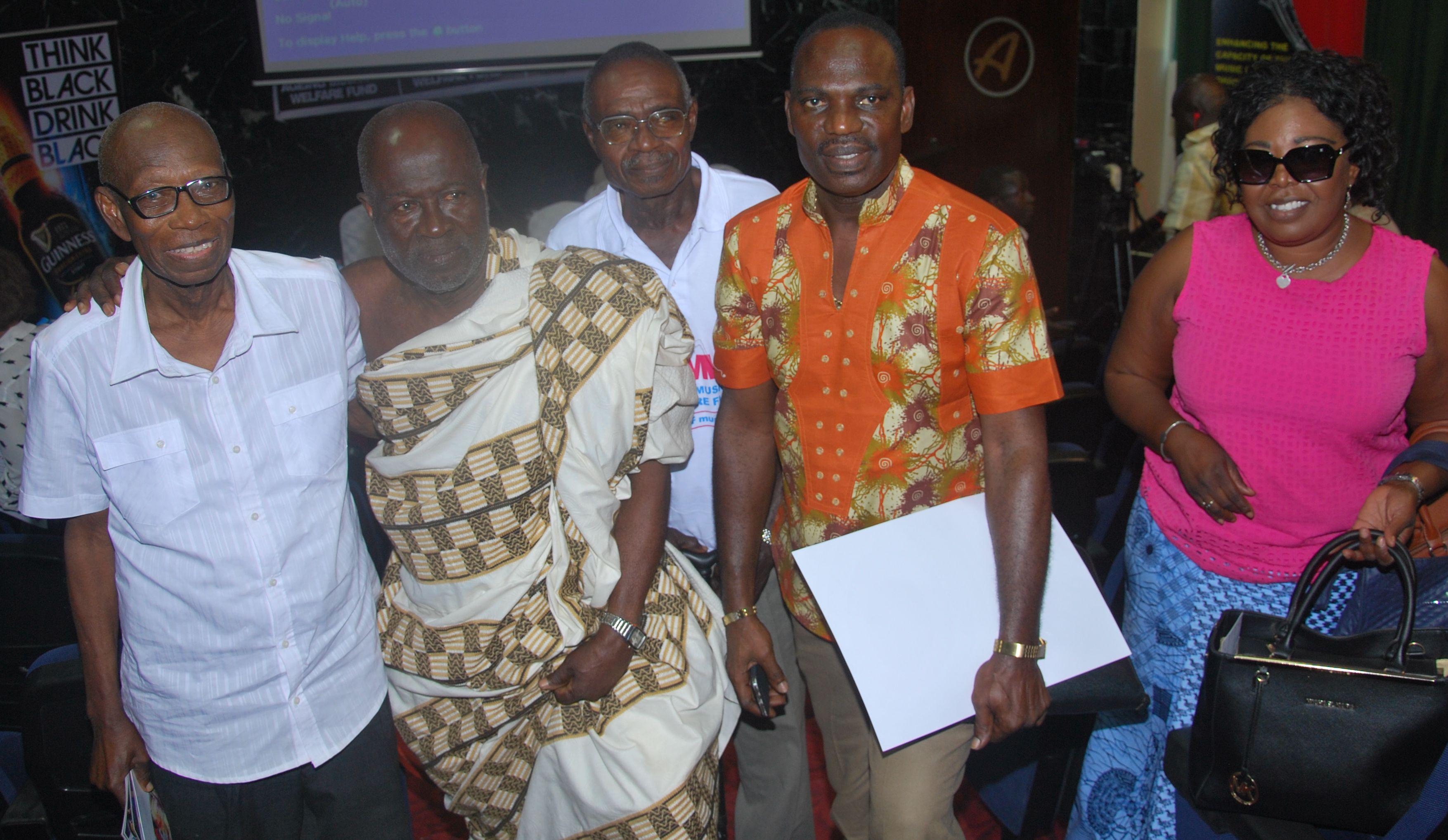 Musiga and AMWEF members