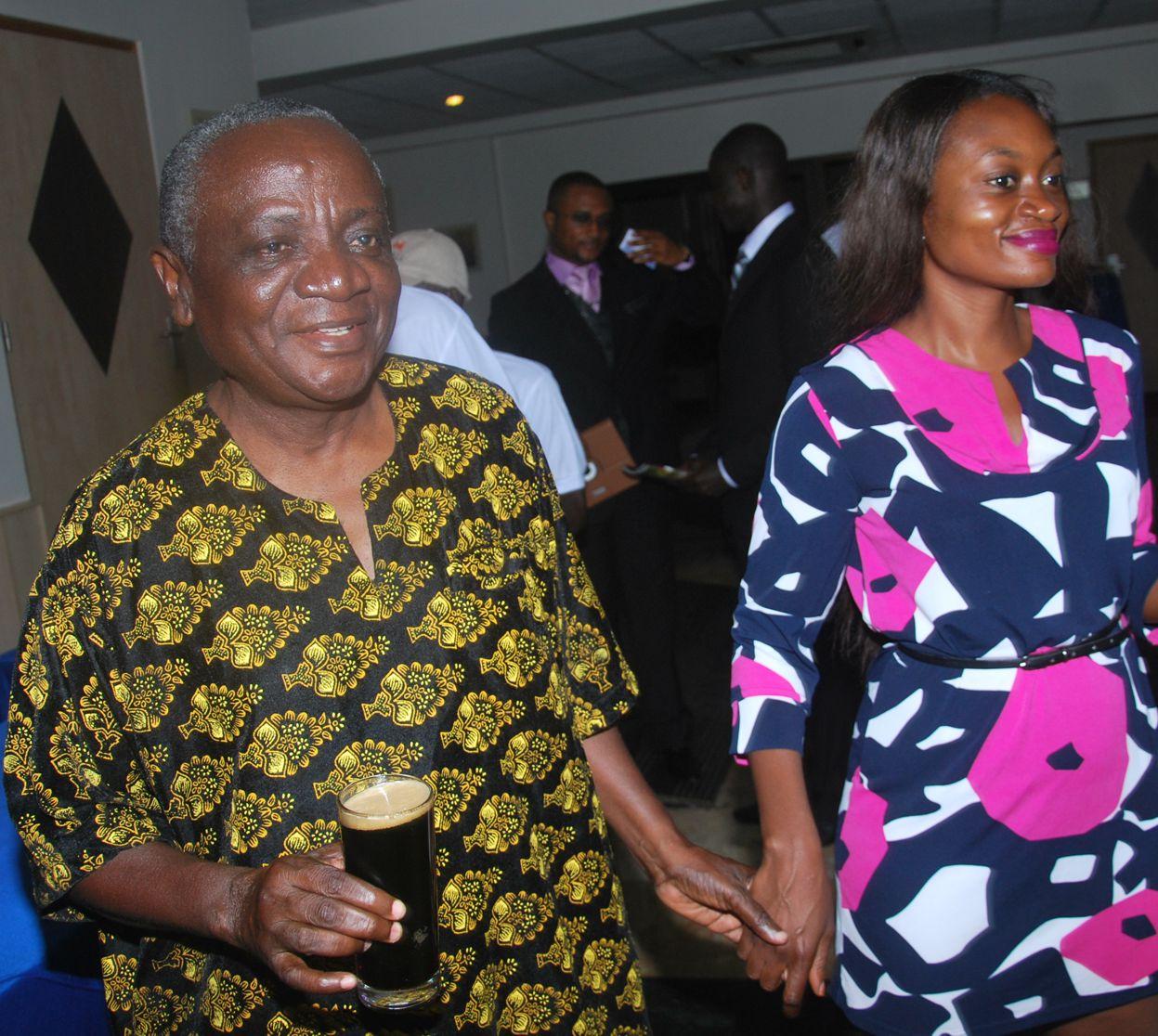 Nana Ampadu and Georgina Bimpong