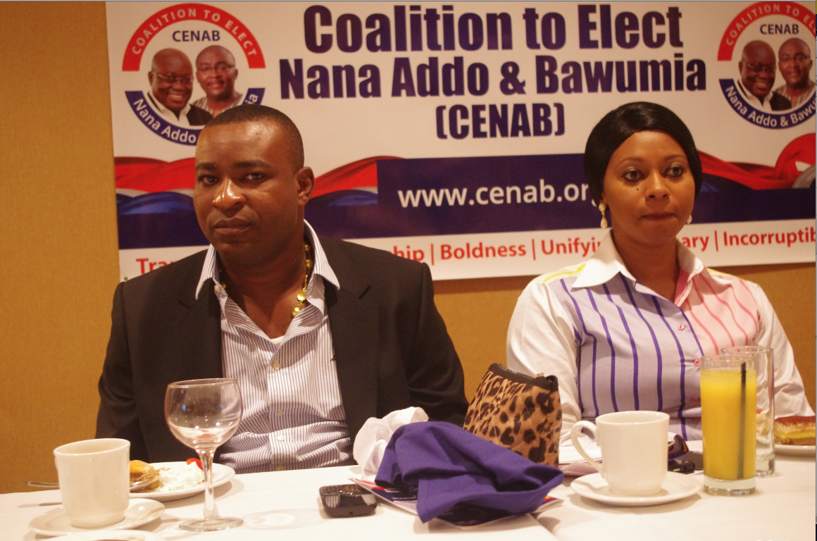 'Chairman Wontumi' with MP for Dome-Kwabenya  Nana Adwoa Sarfo
