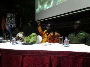 From left Agya Koo Nimo, Diana Hopeson, Obour and Samuel Afari-Dartey