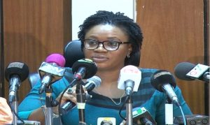 Chairperson of the Electoral Commission, Charlotte Osei.