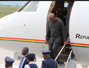 President Mahama will return on Wednesday, August 26.