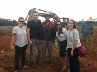 The team at the Ogun Guangdong Free Trade Zone