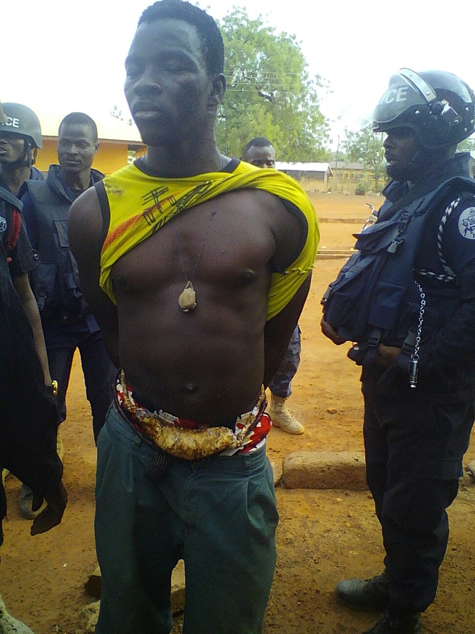 Manan Sambian Bunkprugu Clashes Key Suspects