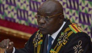 Doe Adjaho - Speaker of Parliament  Photo Credit: ghanalive.tv