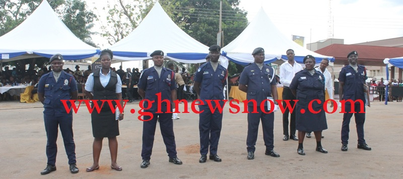 selected awarded police officers
