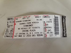 Ticket to the Go Higher Concert