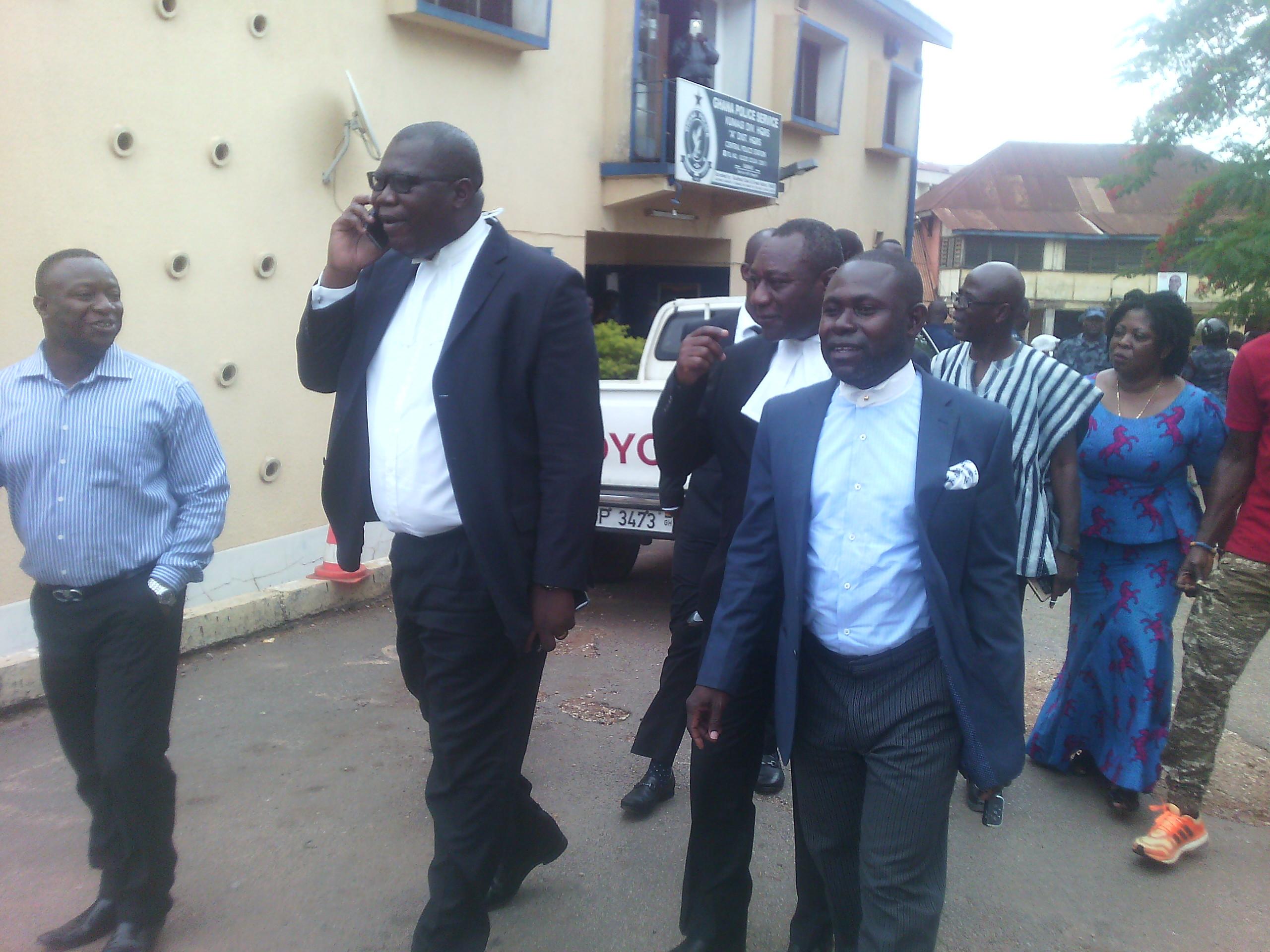 Lawyers Of Ashanti Regional Chairman Bernard Antwi Boasiako