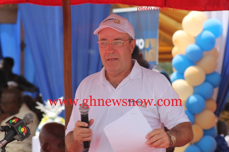 Mr. Peter Breese - President and CEO of Asanko Gold Inc. - in his address congratulated the Asanko Project Team as well as all employees, contractors and sub-contractors for achieving this historic milestone.
