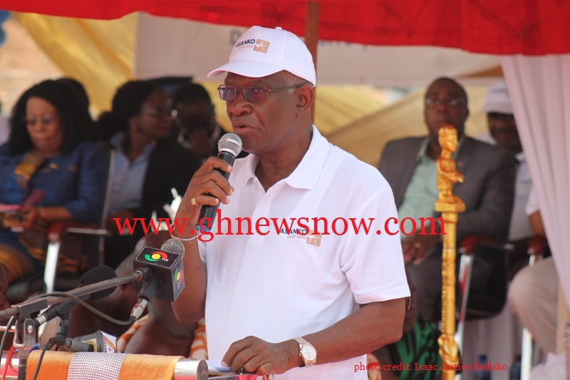 Minister of Lands and Natural Resources, Nii  Osah Mills