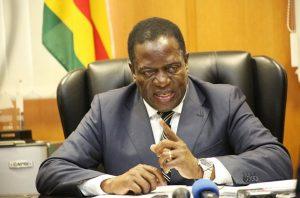 Vice President Emerson Mnangagwa